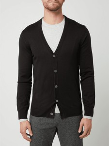 Czarny sweter Christian Berg Men w stylu casual