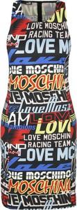 Sukienka Love Moschino w stylu casual prosta mini