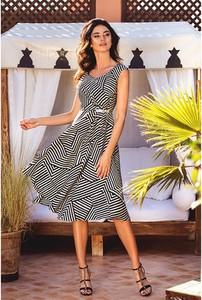 Sukienka Francesca Antonucci midi bez rękawów