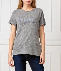 T-shirt Pepe Jeans z okrągłym dekoltem z krótkim rękawem