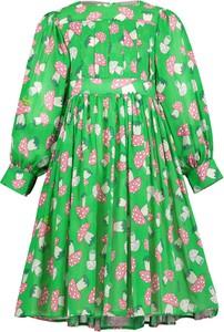 Sukienka dziewczęca Gucci w kwiatki