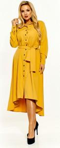 Sukienka Kobiecanki-cacanki z długim rękawem w stylu casual