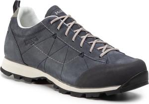 Granatowe buty trekkingowe eobuwie.pl sznurowane