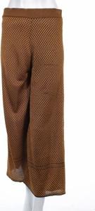 Brązowe spodnie Zara Knitwear w stylu retro