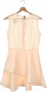 Pomarańczowa sukienka Choies mini