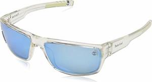 amazon.de Timberland TB9153 męskie okulary przeciwsłoneczne, przezroczyste (Crystal/Brown Polarized), 63