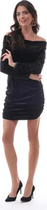 Czarna sukienka Ooh la la hiszpanka w stylu casual mini