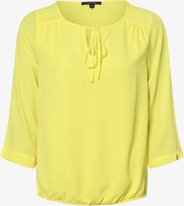 Żółta bluzka comma, w stylu casual