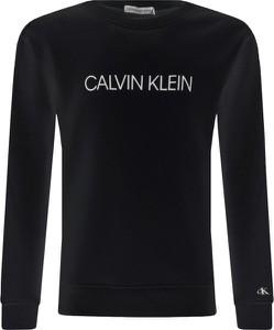Czarna bluza dziecięca Calvin Klein