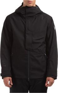 Czarna kurtka Emporio Armani krótka w stylu casual