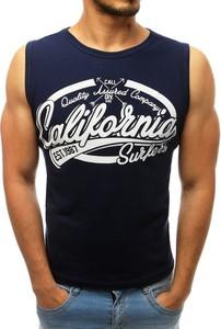 Koszulka Dstreet w młodzieżowym stylu z nadrukiem z tkaniny