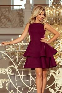 f7fdd57653 sukienki wieczorowe bordowe - stylowo i modnie z Allani