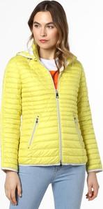 Żółta kurtka Lebek krótka