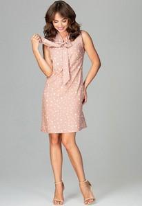 Sukienka sukienki.pl bez rękawów ołówkowa