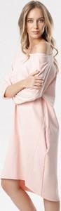 Sukienka born2be w stylu casual midi
