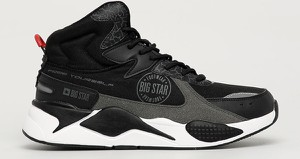 Buty sportowe Big Star sznurowane z zamszu