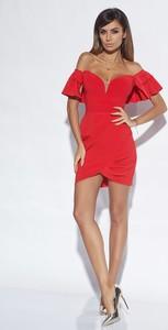 eb00a8e0b9 sukienka czerwona lou - stylowo i modnie z Allani