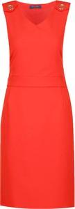 Sukienka Trussardi Jeans ołówkowa bez rękawów mini