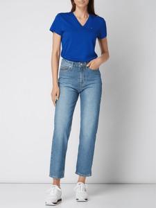 Niebieska bluzka Tommy Hilfiger z bawełny