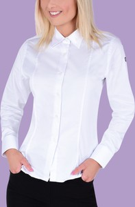 Koszula Dedra z bawełny z kołnierzykiem