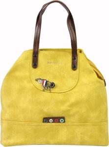 Żółta torebka Kevin Jeans