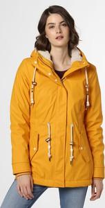 Żółta kurtka Ragwear krótka w stylu casual
