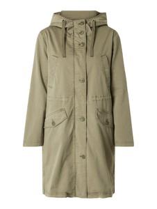 Zielona kurtka Marc O'Polo w stylu casual z bawełny