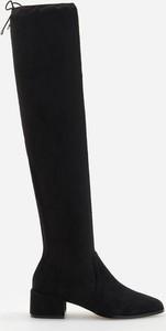 Czarne kozaki Reserved