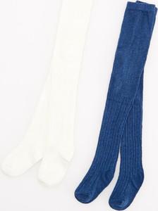 Niebieskie rajstopy Reserved dla dziewczynek