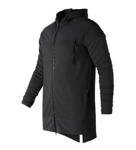 Czarna kurtka New Balance z bawełny w stylu casual
