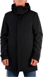 Czarny płaszcz męski Peuterey