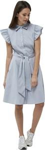 Sukienka Minus mini z bawełny w stylu casual