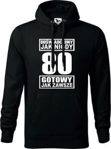 Czarna bluza TopKoszulki.pl w młodzieżowym stylu