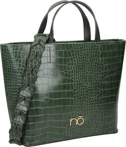 Zielona torebka NOBO na ramię duża