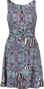 Sukienka comma, mini bez rękawów prosta