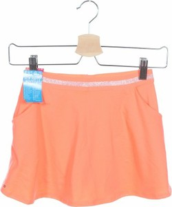 Pomarańczowa spódniczka dziewczęca Decathlon