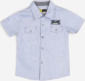 Koszula dziecięca born2be dla chłopców z bawełny