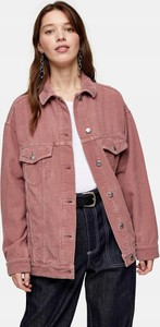 Różowa kurtka Topshop krótka