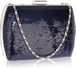 7e9914b96a17d Niebieska torebka Wielka Brytania mała w stylu glamour