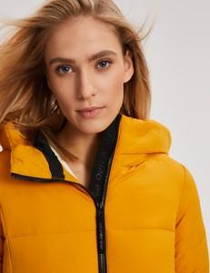 Żółta kurtka Diverse w stylu casual
