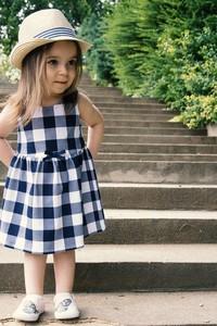 Sukienka dziewczęca El Piloto z tkaniny