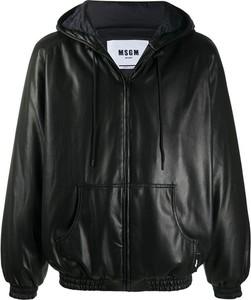Czarna kurtka MSGM krótka
