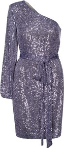 Fioletowa sukienka Swing Polish Fashion Concept mini