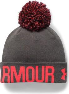 Brązowa czapka Under Armour w street stylu