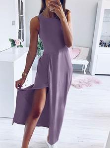 Sukienka Pakuten maxi z bawełny