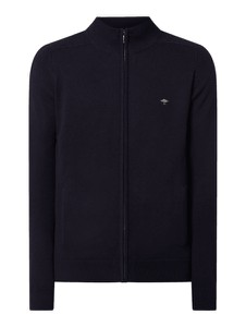 Granatowy sweter Fynch Hatton w stylu casual