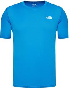 T-shirt The North Face w sportowym stylu z krótkim rękawem