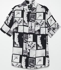 Koszula Cropp w młodzieżowym stylu z klasycznym kołnierzykiem