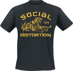 T-shirt Emp w młodzieżowym stylu z krótkim rękawem z bawełny