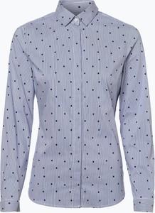 Niebieska koszula Seidensticker z długim rękawem